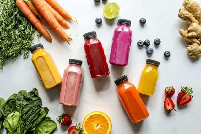 Bottle vegetables, fruit and juices