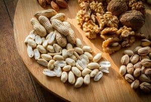 Nuts on the board