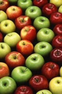 apples in different colors