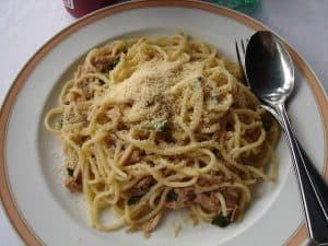 spaghetti al tono