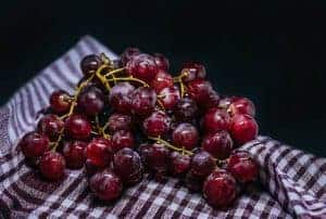 dark grapes