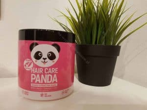 hair care panda on the table
