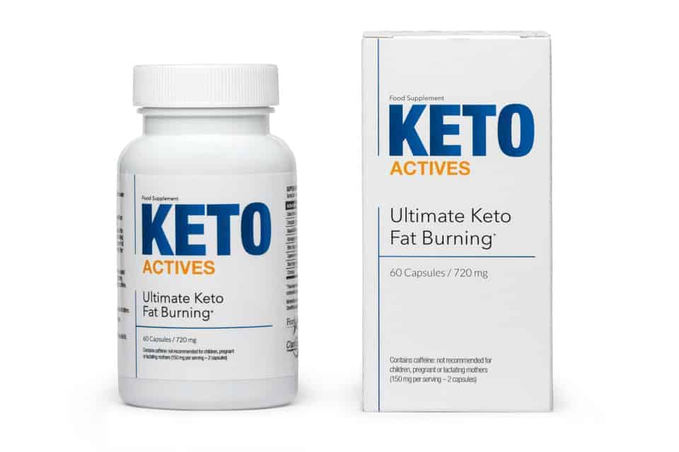 Keto Actives package