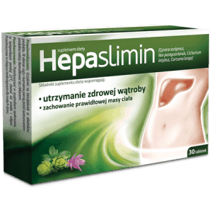 Hepaslimin tablets supporting maintenance of a healthy liver