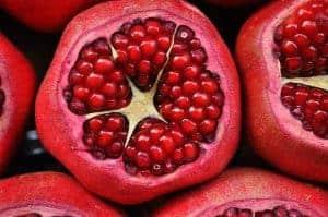 Wild pomegranate fruit