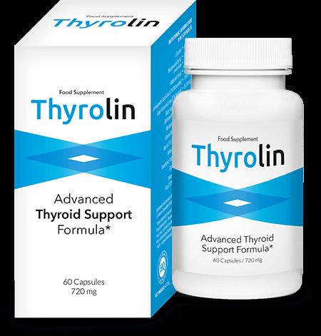 Thyrolin Thyroid Support Capsules