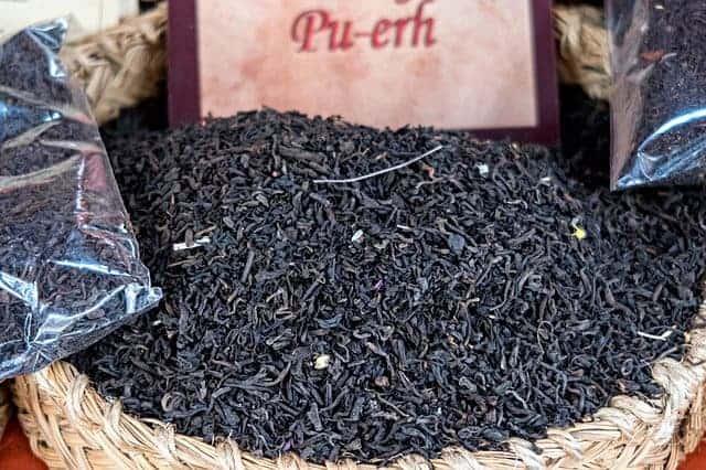 Pu-erh red tea