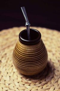yerba mate brewing and drinking vessel
