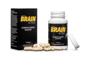 Brain Actives packaging
