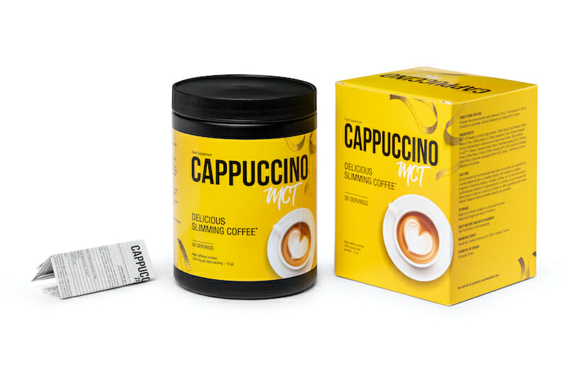 Cappuccino Mct. slimming coffee