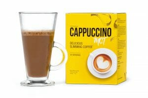 Cappuccino MCT slimming coffee drink