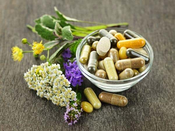 Herbs and herbal pills