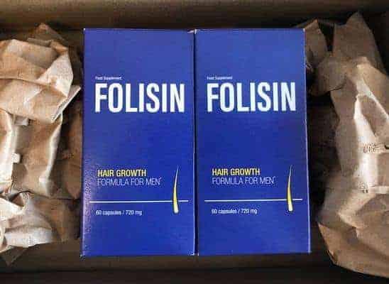 Folisin hair loss suppressants