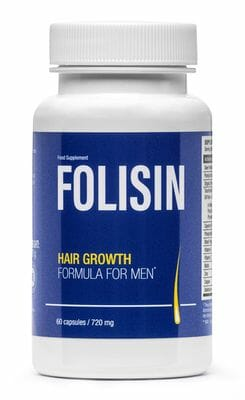 Folisin hair loss supplement