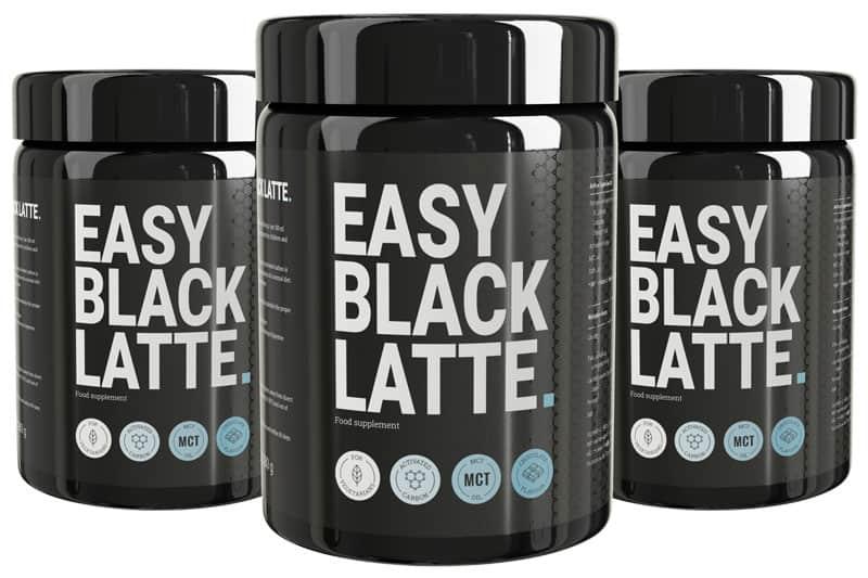 easy black latte packs