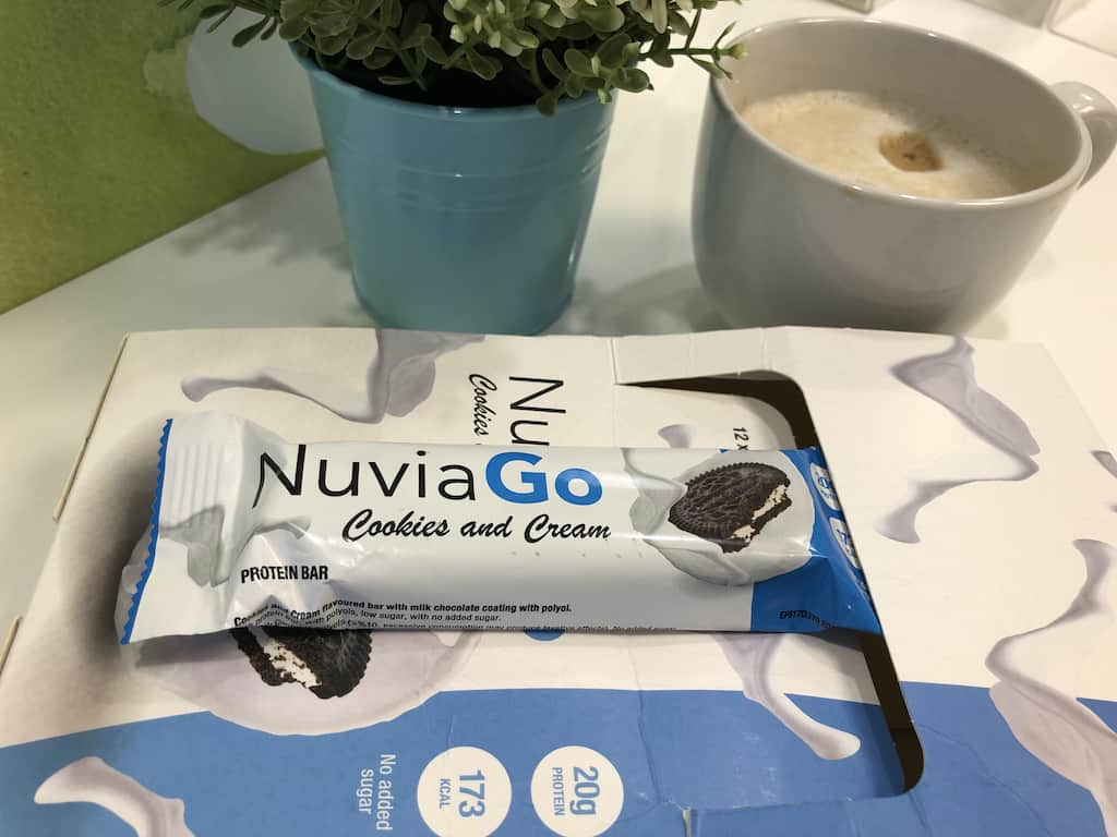 NuviaGo protein bar