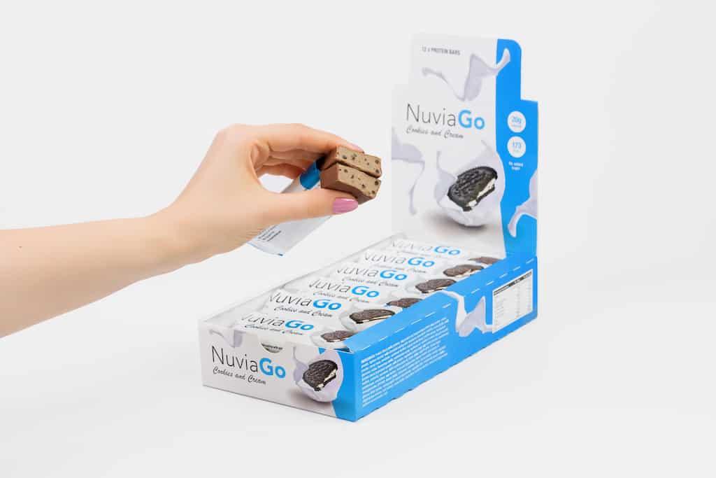 NuviaGo protein bars