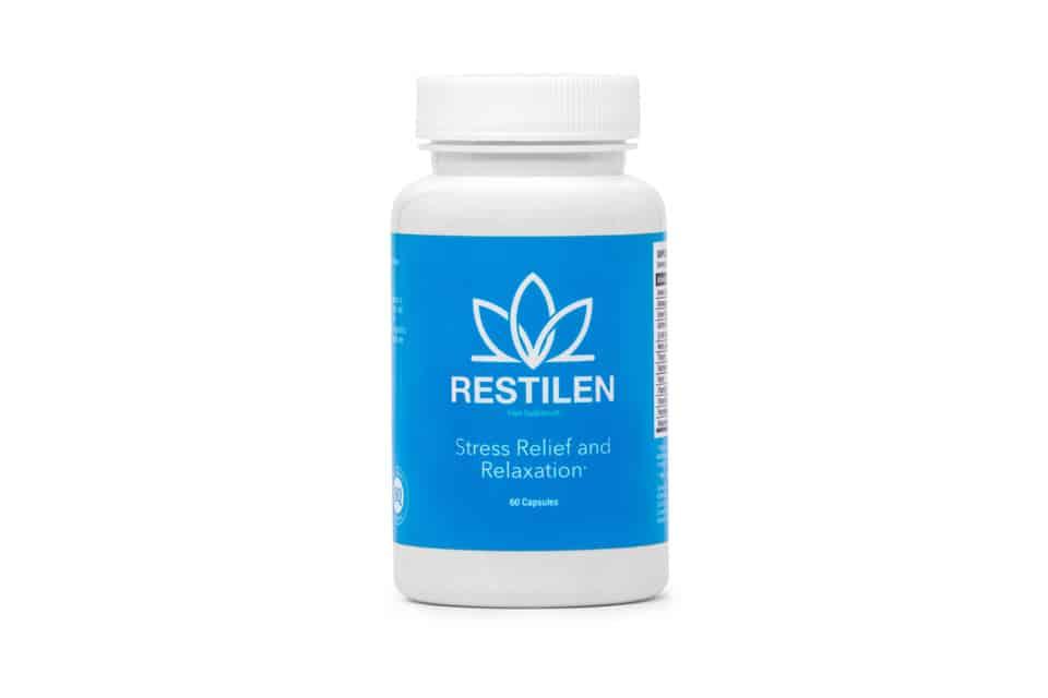 Restilen adaptogen, stress relief pills