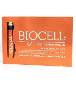 Biocell collagen shots, cere vials