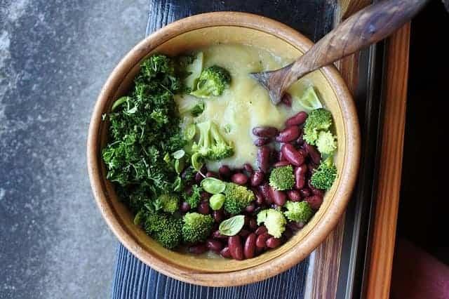 broccoli, beans, healthy food