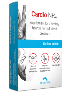 Cardio NRJ, a supplement for high blood pressure