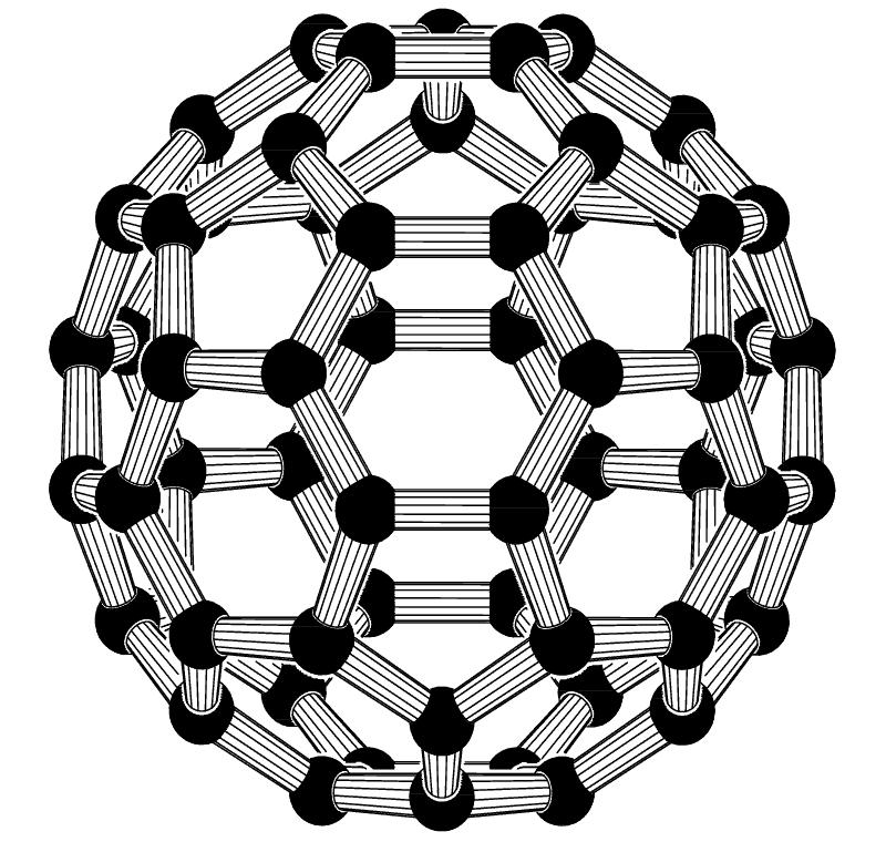 Fuleren C60 molecule