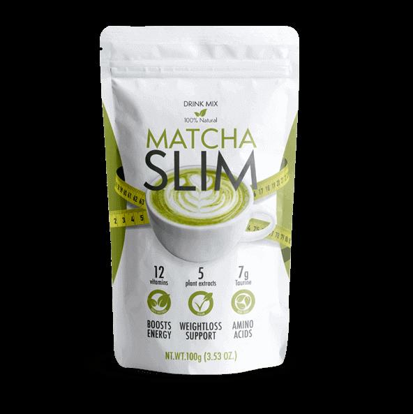 Matcha Slim powder supplement for weight loss