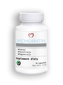 Memoratin, a supplement for memory and concentration