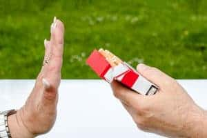 Cigarettes, I don't want to!