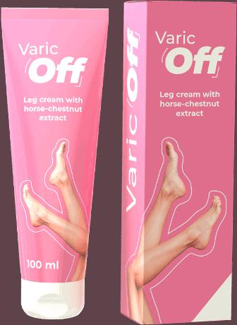 Varicoff cream for tired, heavy legs