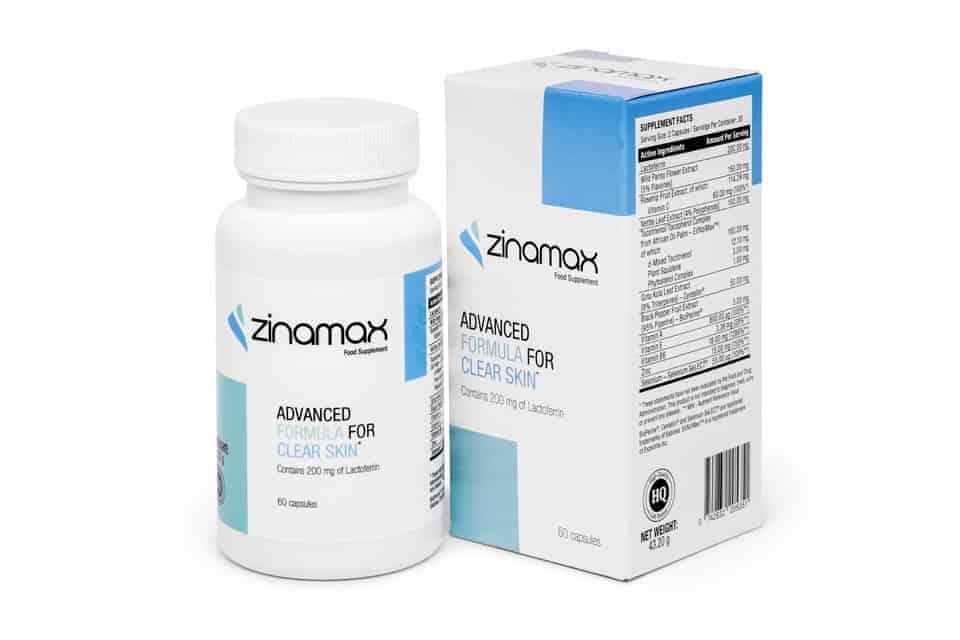 Zinamax Acne Tablets
